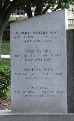 First Left Memorial - - The Price of Freedom Marker image. Click for full size.