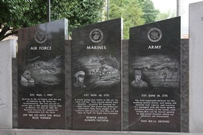 Second Left Section - - The Price of Freedom Marker image. Click for full size.