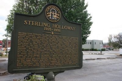 Sterling Holloway Marker & Former Homesite image. Click for full size.