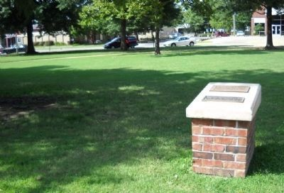 Site of Pittsburg State University Gymnasium and Marker image. Click for full size.