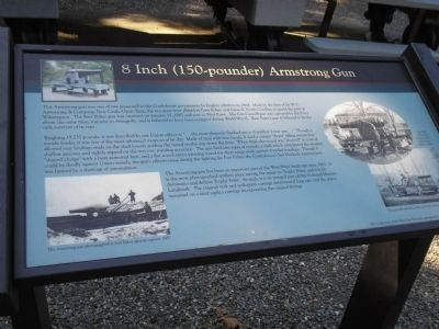 8 Inch (150-pounder) Armstrong Gun Marker image. Click for full size.