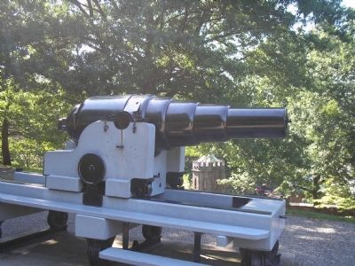 8 Inch (150-pounder) Armstrong Gun image. Click for full size.