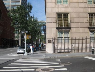 131 East 66th Street Marker - Wide Shot image. Click for full size.