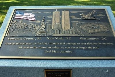 "The ""911"" Memorial Plaque image. Click for full size."