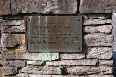 Memorial to: Oscar W. Geier image. Click for full size.