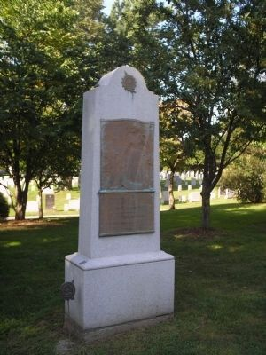 Margaret Corbin Monument image. Click for full size.