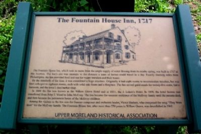 The Fountain House Inn, 1717 Marker image. Click for full size.