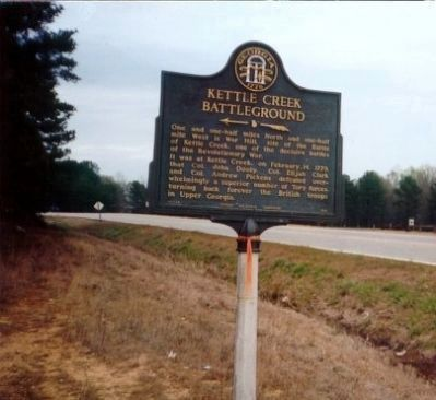 Kettle Creek Battleground image. Click for full size.