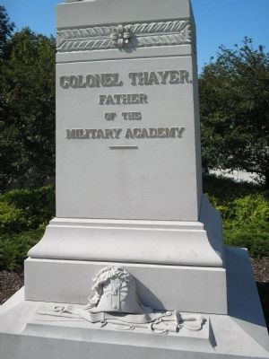 Colonel Thayer Marker image. Click for full size.