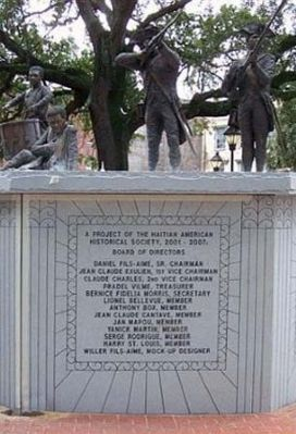 Haitian Monument Marker image. Click for full size.