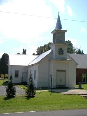 Shiloh Baptist Church and Marker image, Touch for more information
