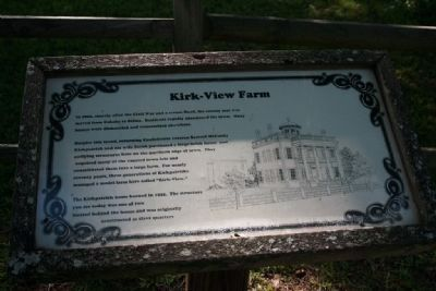 Kirk-View Farm Marker image. Click for full size.