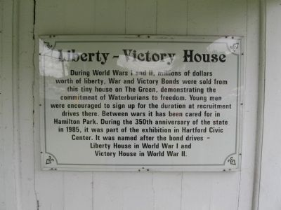 Liberty – Victory House Marker image. Click for full size.
