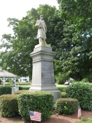 Kenea Soldiers Monument image. Click for full size.