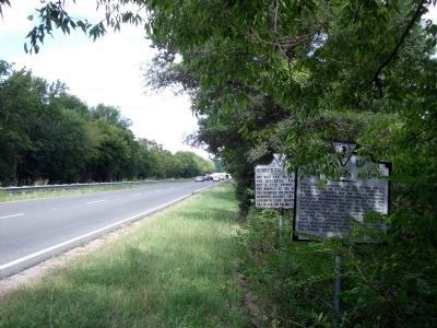 Cornwallis's Route Marker on Rte 360 (facing east). image. Click for full size.