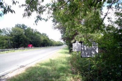 Henry's Call to Arms Marker on Rte 360 (facing east). image. Click for full size.