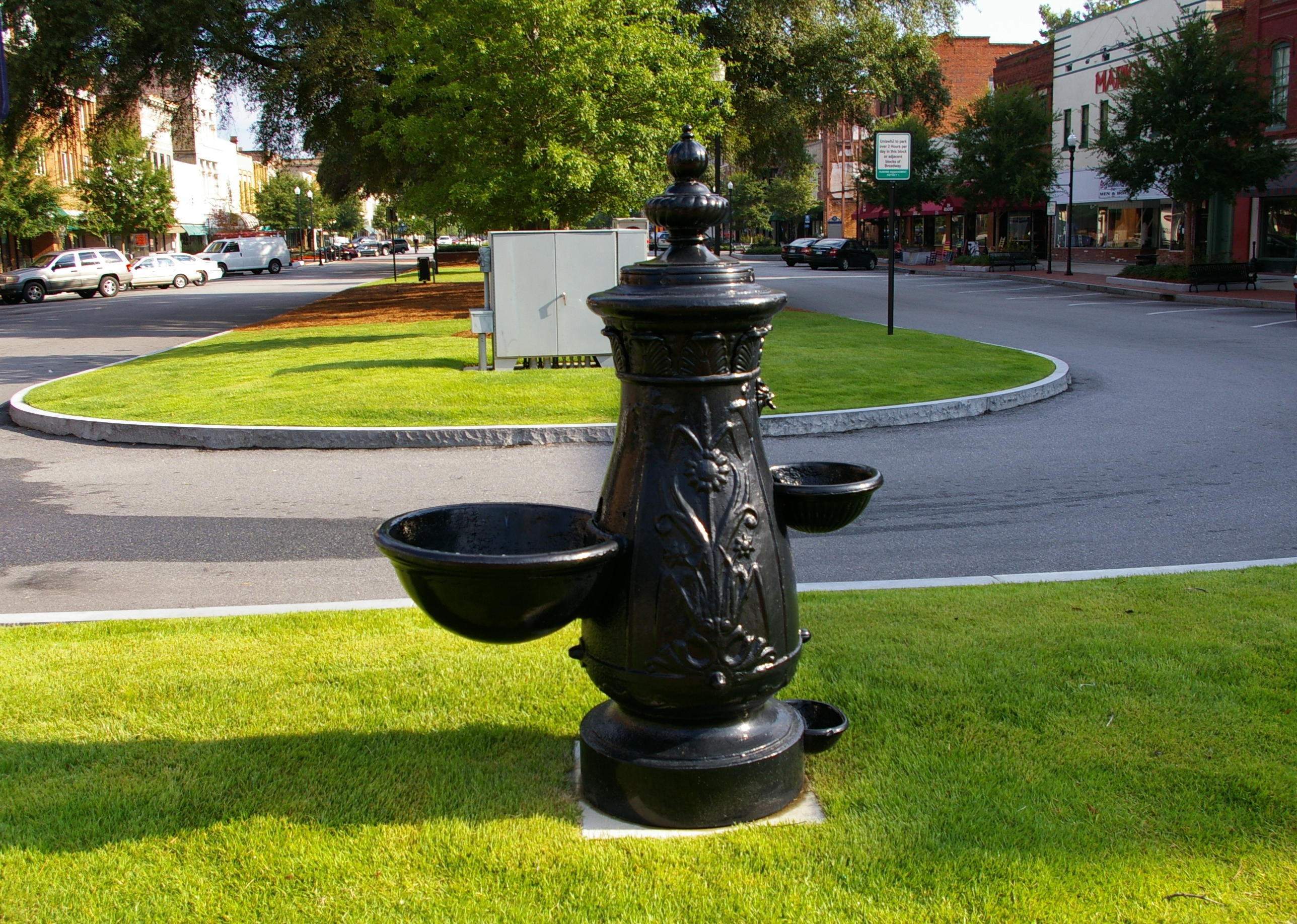 "The Drinking Fountain, ""Fit for Man and Beast"""