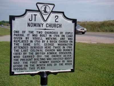 Nominy Church Marker image. Click for full size.