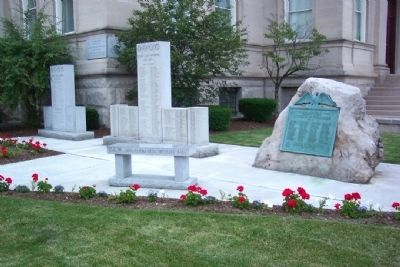 Somerset County World War I Memorial image. Click for full size.