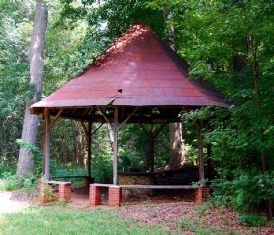 Chick Springs Gazebo image. Click for full size.
