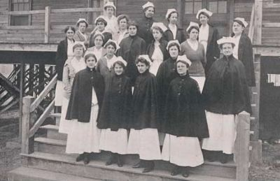 Camp Sevier Nurses image. Click for full size.