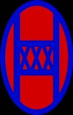 30th Infantry Division Emblem image. Click for full size.