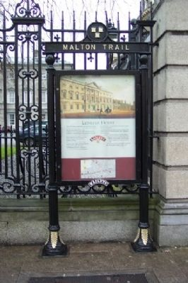 Leinster House Marker image. Click for full size.
