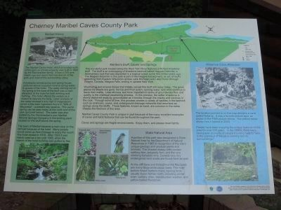 Interpretive Panel at (Manitowoc) County Park image. Click for full size.