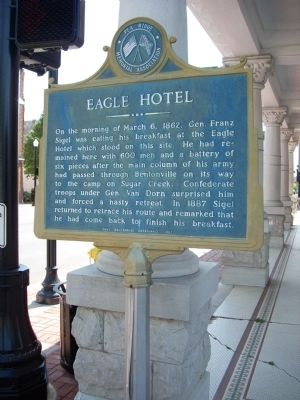 Eagle Hotel Marker image. Click for full size.