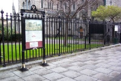 St. Patrick's Cathedral and Marker image. Click for full size.