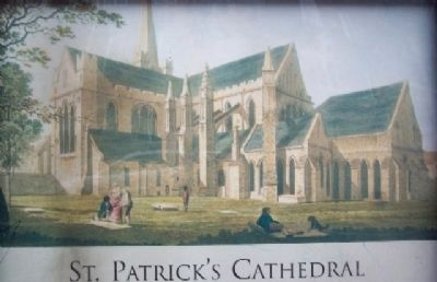 Malton's St. Patrick's Cathedral Drawing image. Click for full size.