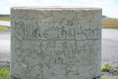Hull's Trail, 1812 Marker image. Click for full size.