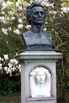 James Clarence Mangan Memorial image. Click for full size.