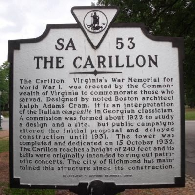 The Carillon Marker image. Click for full size.