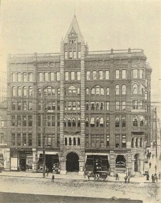 Pioneer Building - 1900 image. Click for full size.