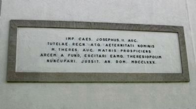Dedication Plaque on the Northern Side of the Church image. Click for full size.