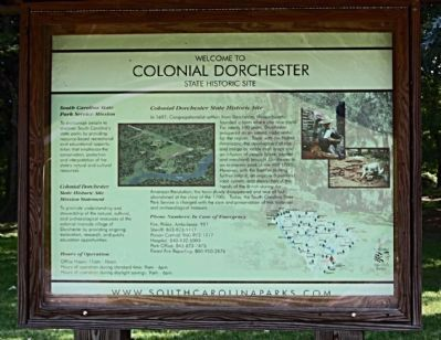 Colonial Dorchester Marker image. Click for full size.