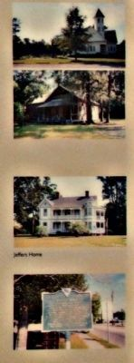 "(Right pictures):Target Church; McCoy School; Jeffers Home; SC Highway Marker ""Holly Hill"" image. Click for full size."