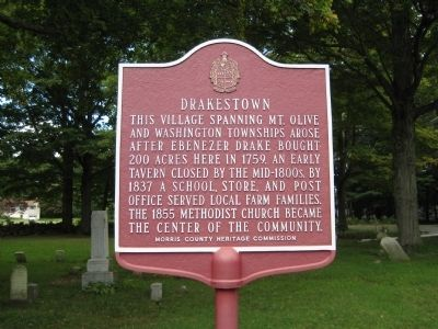 Drakestown Marker image. Click for full size.