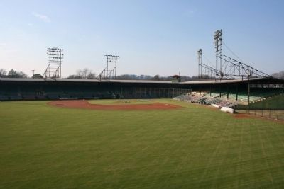 Outfield View Of Rickwood Field image. Click for full size.