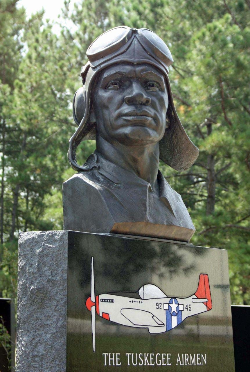 The Tuskegee Airman Monument