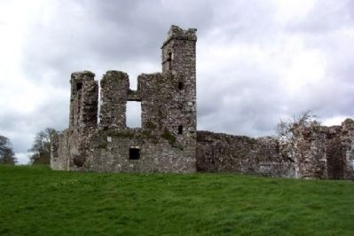 Slane Abbey College Ruins image. Click for full size.