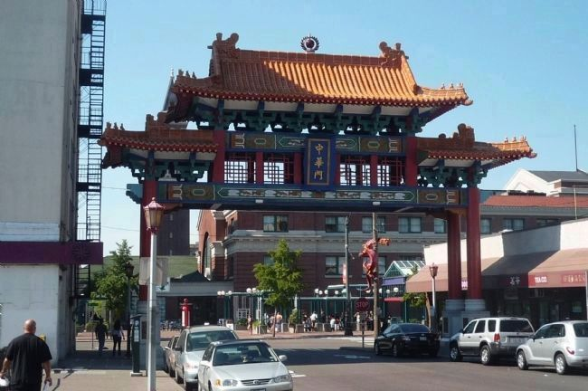 """Historic Chinatown Gate"" image. Click for full size."