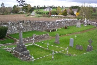 Donaghmore Church Cemetery image. Click for full size.