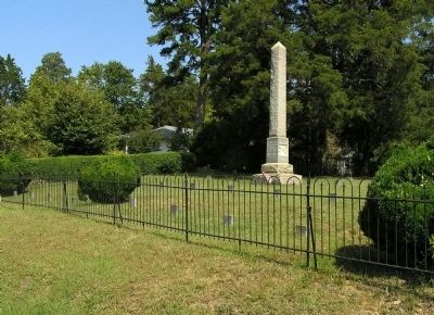 Moore's Hill Confederate Cemetery image. Click for full size.