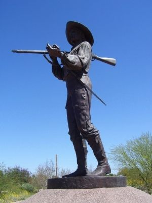 Mormon Battalion Soldier image. Click for full size.