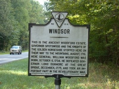 Windsor Marker image. Click for full size.