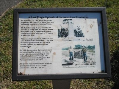 A Last Tragic Episode of the American Revolution Marker image. Click for full size.