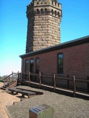 Navesink Light Station Marker image. Click for full size.
