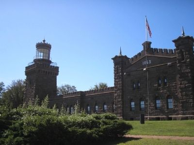 South Tower of Navesink Light Station image. Click for full size.